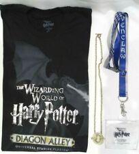 Universal Studios The Wizarding World Of Harry Potter Shirt, Necklace & Lanyard