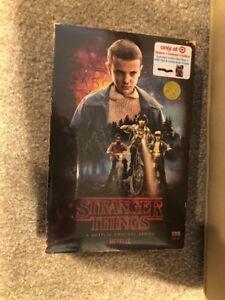 STRANGER THINGS Season1TARGET EXCLUSIVE VHS Packaging(Bluray+DVD+Poster)Brandnew