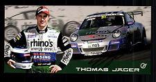 Thomas Jäger Autogrammkarte Original Signiert Motorsport + G 15134