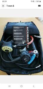 Atemregler SCUBAPRO MK20-G500 + Finimeterschlauch + Inflatorschlauch
