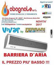BARRIERA LAMA D'ARIA 1500mm CM 150 CON TELECOMANDO FERRARI VIVAIR  2017 NORMA CE