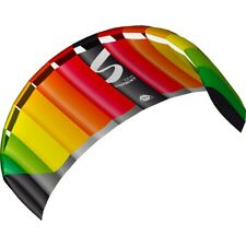 Lenkmatte HQ Symphony Pro 2.2 Rainbow R2F Lenkdrachen mit Schlaufen HQ Kite
