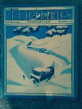 Fortune  Magazine February 1938
