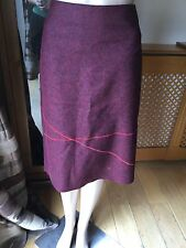 EYE CATCHING ALDOFO DOMINGUEZ SKIRT SIZE 36 WORN 2-3 TIMES GOOD CON LINED INSIDE