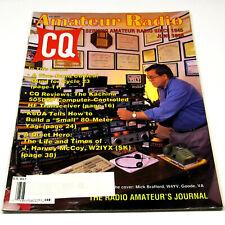 CQ MAGAZINE Jun 1998 HAM/AMATEUR RADIO 5-Band Quad/Kachina 505DSP HF Transceiver