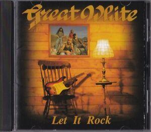 GREAT WHITE / LET IT ROCK - CD 1996