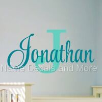 Sticker Boys Bedroom Nursery Personalized Name Vinyl Decal Wall Monogram