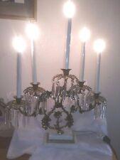 Vintage Ornate 5 Light Candelabra
