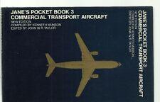 JANE'S POCKET BOOK 3 - COMMERCIAL TRANSPORT AIRCRAFT (SZ2O5)