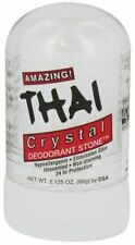 Thai Travel Deodorant Stone Natural Crystal Deodorant Push-Up Stick - 2.125 Oz