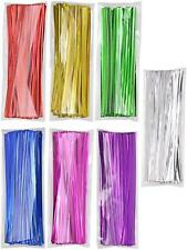 "New Mini Skater 4"" Metallic Twist Ties 7669346, 700pcs, Colored (7 Colors)"