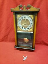 Vintage Centurion 35 Day Wind-Up Chiming Wall Clock