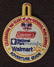 Coleman 100 years of the National Parks Service Adventure Guide Patch Boy Scouts