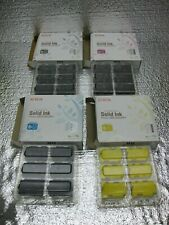 Xerox Phaser 8860 8860MFP Solid Ink Set New Genuine  *** SHIPS OVERBOXED ***