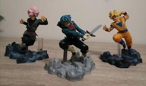 Dragon Ball Z Action Figures. Lot of 3. More Details in Description.