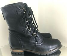 Russell & Bromley Black Soft Leather Boots Black UK Size 5