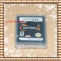 Contra 4 (Nintendo DS,2007) Game Only for DS / DSi / 3DS XL