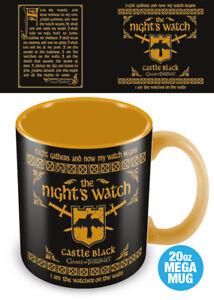 Game of Thrones - Night's Watch Oath - Huge 20oz MEGA MUG