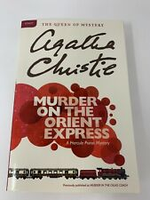 MURDER ON THE ORIENT EXPRESS (A HERCULE POIROT MYSTERY) - Agatha Christie