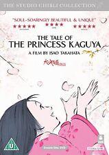 STUDIO GHIBLI  THE TALE OF THE PRINCESS KAGUYA   NEW SEALED UK  DVD