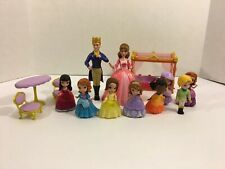 Princess Sofia The First Lot of Figures & Accessories Prince James King Roland
