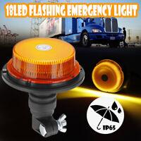 18 LED Sécurité Alarme Lampe Gyrophare Stroboscope Clignotement Flash Camion 12V