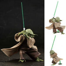 Star Wars Master Yoda Action Figure PVC Toys - The Force Awakens Take Sword Ver.