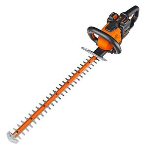 """Worx WG284 Cordless Hedge Trimmer, 40V, 24"""", Battery Operated"""