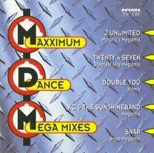 Maximum Dance Mega Mixes Silent Circle, Snap, Twenty 4 Seven, Imagination.. [CD]