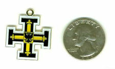 Medieval German Teutonic King Knight Crusades Kingdom Battle Eagle Fob Pendant X