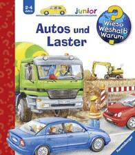 Autos und Laster / Wieso? Weshalb? Warum? Junior Bd. 11 von Andrea Erne (2005, Ringbuch)