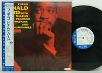 Donald Byrd - Fuego LP 1992 Japan Blue Note BST 84026 Jazz Hard Bop w/ obi