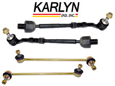 Tie Rod Assembly Inner Outer Sway Bar Link Set Lt & Rt OEM-Quality BMW 5 Series