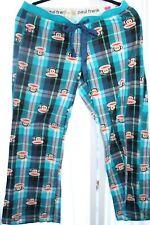 Paul Frank Flannel Pants Monkey Size Large Girls
