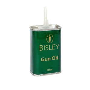 Bisley 125ml Gun Oil Mineral Lubricant Lube Dropper Rust Protector Protection