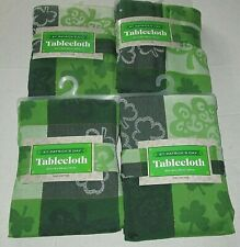 St Patrick'S Day Fabric Tablecloth Ass't Shamrock'S [Your Choice]