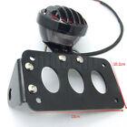 Side Mount Tail Brake Light License Plate Bracket For Bobber Harley Chopper New