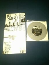 "Let Down ST 7"" Grey Vinyl Record Doppleganger Records sxe Hardcore"