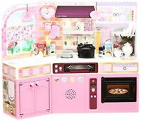 Licca Doll Rika Chan Ding Spacious Kitchen Range TAKARA TOMY Girls Toy Kawaii JP