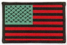 """10 RASTA USA Flag iron-on Embroidered Patches 3.5""""x2.25"""" iron-on"""