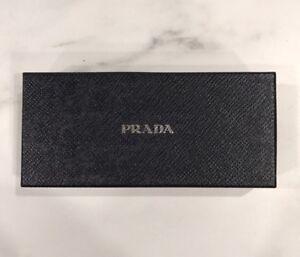 "Authentic Prada Sunglasses or Eyeglasses Gift or Storage Box - 6.5"" x 3"" x 1.75"""