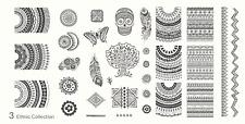 MoYou Nail Fashion Stamping Nail Art Image Plate 3 Ethnic Collection mandala