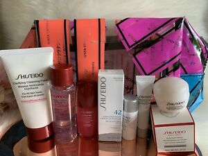 Shiseido 7 Piece Essential Eye Cream,Power Concentrate,Travel Gift Set New 2020