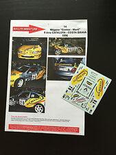 DECALS 1/43 RENAULT MEGANE MAXI KIT CAR GOMEZ RALLYE CATALUNYA 1996 RALLY