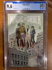 THE MAGIC ORDER #1 - CGC 9.6 - 1st PRINT - MARK MILLAR - COIPEL - NETFLIX TV