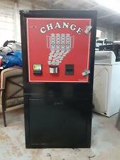 American Changer Ac6000 Bill Changer Dual Hopper & Validator Floor Model