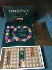 Vintage Choco Tierra Juego de Mesa 1990-Juego Usado ramo alargue Quiz