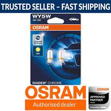 WY5W OSRAM Diadem Chrome 12V Indicator Signal Bulbs (Twin Pack) 2827DC-02B