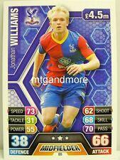 Match Attax 2013/14 Premier League - #085 Jonathan Williams - Crystal Palace