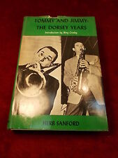 "OLD VTG 1972 BOOK ""TOMMY & JIMMY:  THE DORSEY YEARS"" BY HERB SANFORD, GOOD COND"